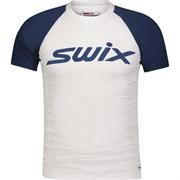 Футболка SWIX RaceX SS blue мужская