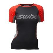 Футболка SWIX RaceX Radiant SS Neon red женская