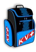 Рюкзак KV+ объем 55 л black/blue