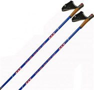 Палки лыжные KV+ FORZA Blue Clip 100% Carbon
